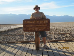 Badwater area in Death Valley