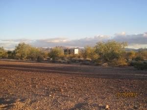 Our spot on Plamosa road outside Quartzsite
