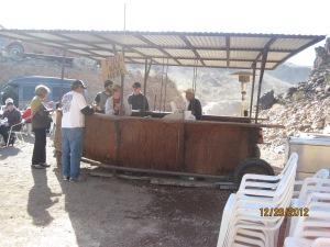 The Desert Bar outside Parker Az