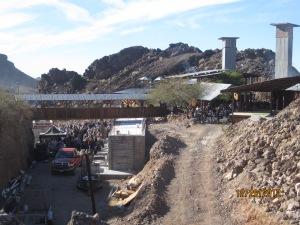 The Desert Bar taken from the parking lot