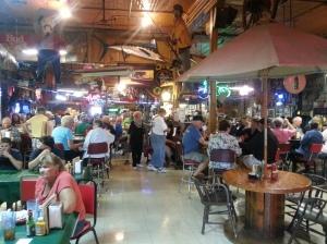 Lutes Casino in Yuma Arizona. The oldest pool hall and domino parlor in Arizona