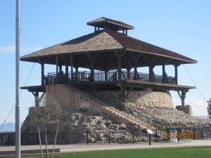 Guard tower at the Yuma Territorial prison