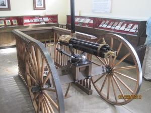 45 caliber Gatlin gun