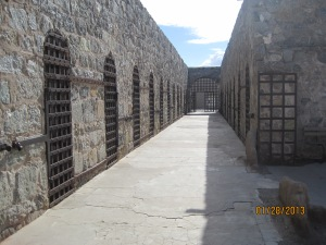Cells at the Yuma Territorial prison