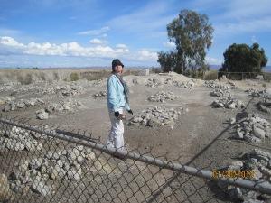 The grave yard at the Yuma Territirial prison