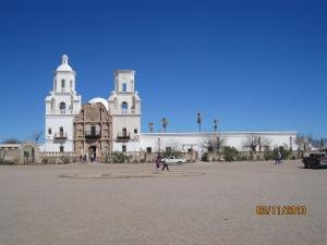 Xavier del bac mission in Tucson Arizona
