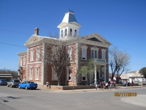 The Tombstone Courthouse built in 1882
