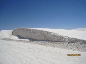 Doesn't that look like a snow drift!!??
