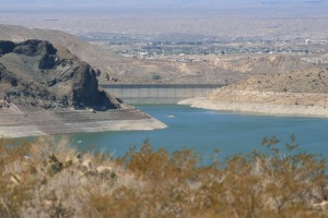 From above Elephant Butte Dam