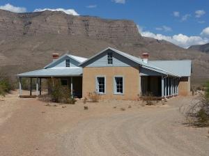 Oliver Lee ranch house