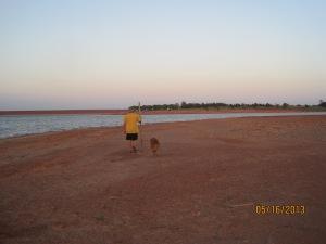 Last walk around the Foss Lake