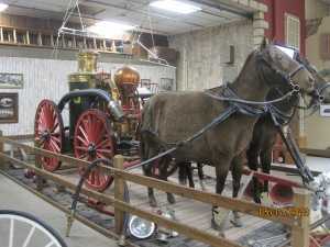 Horse Drawn steam engine that weighed well over 5000lbs