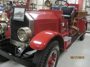 1928 Southern 750 Pimper. This was Oklahomas first automotive fire apparatus