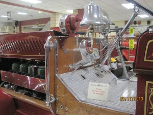 Inside the 1919 Seagraves Pumper