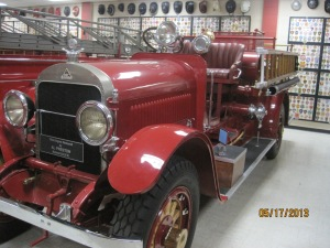 1921 Stitz Fire Engine. This is a 500 gpm Triple Combination Pumper