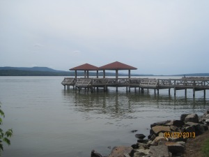 Lake Dardanelle by Russellville Arkansas