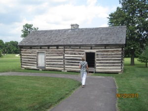 Alfred's cabin. Alfred was born into slavery at the Hermitage in 1812 and even after becoming a freed man he remained on the Hermitage as a caretaker until his death at the age of 99
