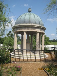 This is where Andrew Jackson and his wife Rachel Jackson are buried