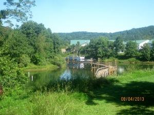That's the walk bridge to the lodge.
