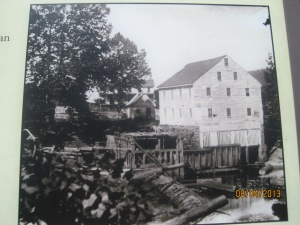 Jackson's Mill. His house can be seen in the background but is no longer there.
