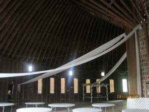 Another shot in the loft of the Round Barn