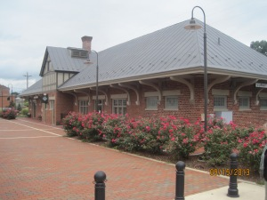 The Visitor center in Luray Virginia