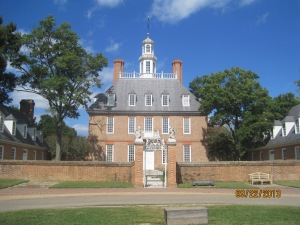The Governors Palace was built in 1722 but burned down while being used as a hospital in 1781 but was rebuilt.