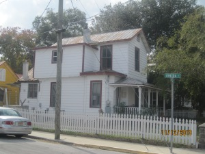 Martin Luther King was hidden in this house while visiting S. Augustine