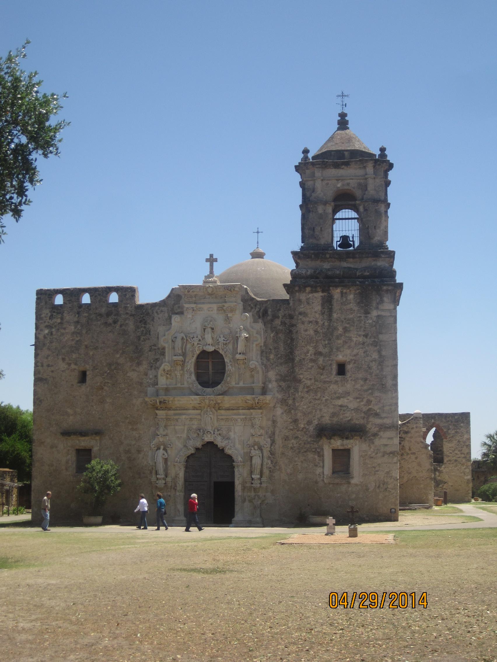 a tour of san jose mission in san antonio texas