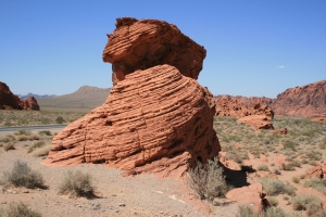 That's called the Beehive rocks.