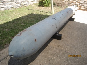 A 20' long Mark XIV Torpedo