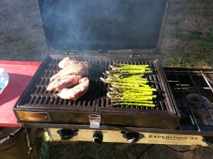Dinner on the BBQ