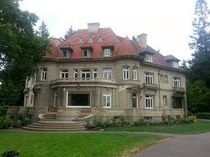 The Pittock Mansion in Portland Oregon