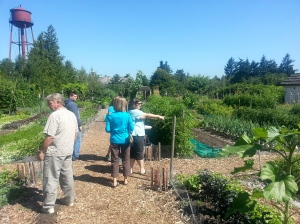 They have a huge garden to stroll through. Good thing we were full from breakfast!