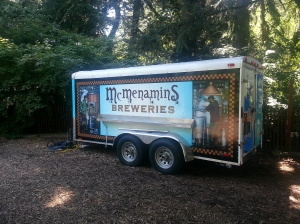 During the outdoor concerts there are a number of this mobile watering holes sitting around.