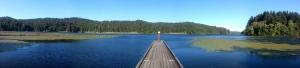 Tahkenitch Lake boat ramp
