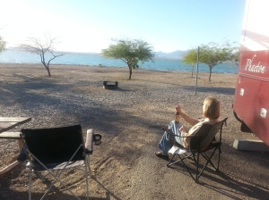 Our spot in Lake Havasu