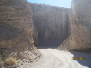 More of the road leading to the Date Ranch. You won't want to be taking any big rigs down there
