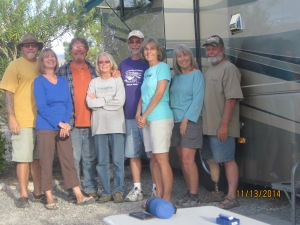 From left to right Me & Diane, Roger & Lynn, Jeff & Tina and Dianne and Tom. A few embers of the Class-Less group.