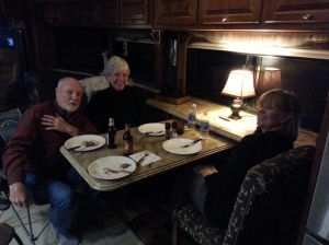 Our good friends Kathy and Larry stopped by for a visit!!