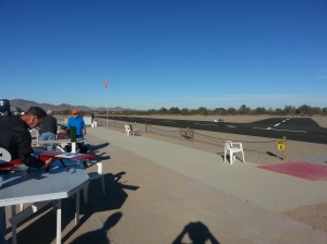 It's amazing how ice the RC airfield is in Quartzsite. One of the nicest we have seen.