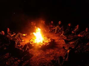 Yep, you guessed it.... another evening around the fire with the Tiffin group LOL!!! We had a great time.