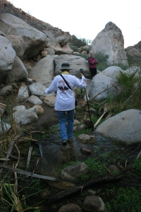 There were I think 3 minor water crossings.