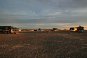 That was a full circle of rigs just a few days ago. All god things must come to an end. Until next year anyway!!!