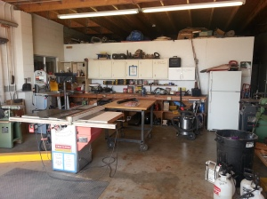 This is the woodworking shop.