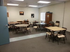 Card and game room