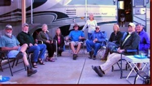 From the left, Tom, Keith, Deborah, Diane, Yours Truly, Dianne, Dave, Becky, Karen & Bob