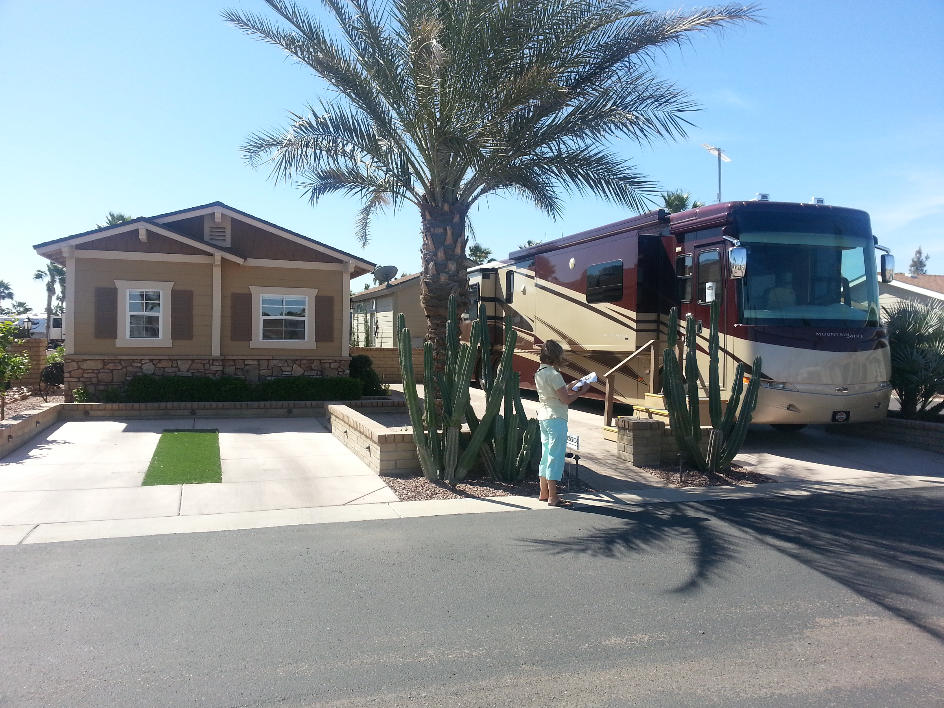 Our Stay At Palm Creek Rv Resort In Casa Grande Arizona