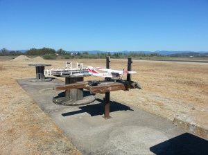 First day I ever took the plane to an RC airfield. I was almost nervous just having it setting on the table LOL!!