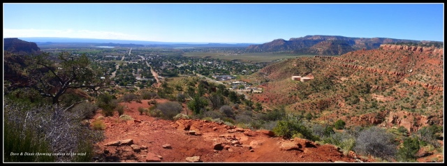 A shot of Kanab from the Squaw Trail